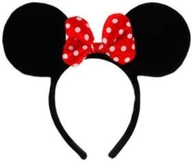 Funcart Red Minnie Mouse Headband