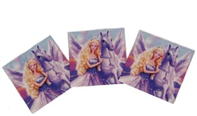 Funcart Riding Princess Theme Napkins
