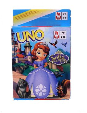 Funcart Sofia Uno playing cards for kids