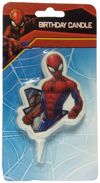 Groovy Buy Funcart Spiderman Cake Topper Birthday Candle Online At Low Funny Birthday Cards Online Unhofree Goldxyz