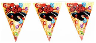 Funcart Spiderman And Quot Theme Flag Banner