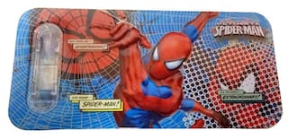 Funcart Spiderman Fancy pencil box with stationery items