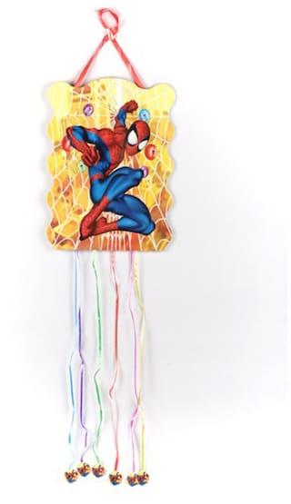 Funcart Spiderman Theme Funcart Party Pull String Pinata