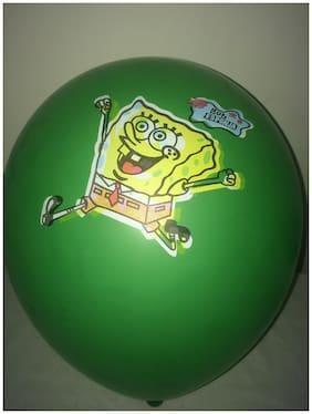Funcart Spongy Bob Colorful Ballons (Pack Of 5)