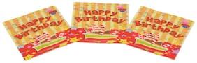 Funcart Stripe Birthday Theme Napkins