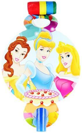 Funcart Three Princess Theme Blowouts ( Pack Of 6)