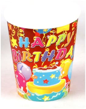 Funcart Three Tier Cake Theme Paper Cup
