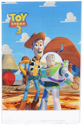 Funcart Toy Story Theme Plastic Cover Sheet ( Pack Of 1)