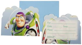 Funcart Toy Story Theme Invitation ( Pack Of 6)