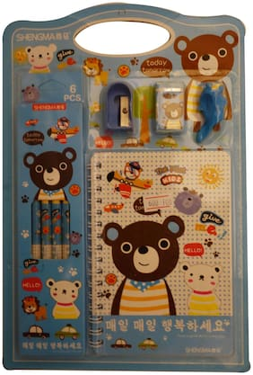 Funcart Winnie stationery set (10 stationery items/pack)