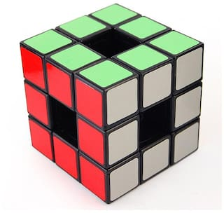 Funrally Void Cube Puzzle Black Base