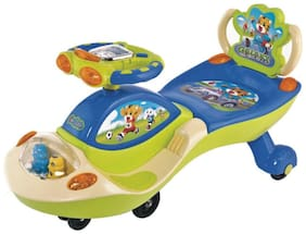 Funride Galaxy Musical with LED Lights Twist and Swing Magic Car