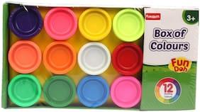 Funskool Box of Colour Fun Doh (Set of 12) (2350600)