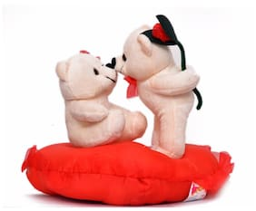 Funzoo Kissing Teddy Bear Couple