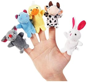 Futaba Animal Finger Puppets - Pack of Ten