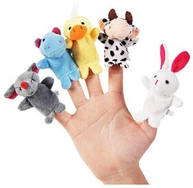 Futaba Animal Finger Puppets - Pack of Five