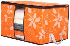 Futaba Quilt Sorting Anti-bacterial Clothing Organizer - Orange