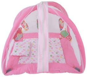 G&K Baby Bedding Play Gym Kick Set Mat Bed with Mosquito Net.