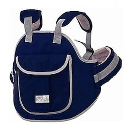 G&K Baby Carry Cot Safety Belt for Kids-When Travelling On Two Wheeler.(Navy Blue).