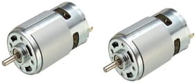 Gadget Deals 12 V Dc Motor Pack OF 2