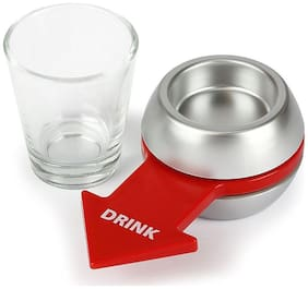 Game Set Spin-the-Shot-Glass Drinking