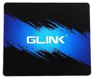 gaming mouse pad 20 x 24 cm blue & black color