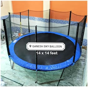 Ganesh Sky Balloon Trampoline 14 feet