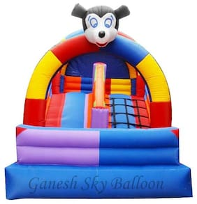 Ganesh Sky Balloon Mickey Mouse Inflatable Slie Bouncy Balloons, Size 10 x 14 ft
