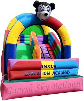 Ganesh Sky Balloon Bouncing Castle 9x12 feet