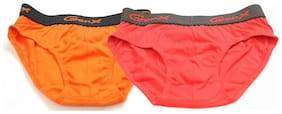 Genx Brief For Boys - Red , Set of 2