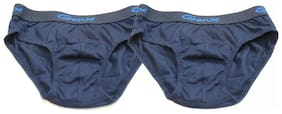 Genx Brief For Boys - Blue , Set of 2