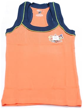 Genx Vest For Boys - Orange , Set of 5