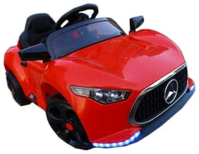 GetBest Mercedes A Class Ride on Battery Operated Car for kids With Remote Control and Metallic paint 12,700