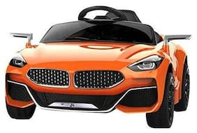 GetBest Z4 Battery Operated Ride on car for Kids with Remote Control, Orange