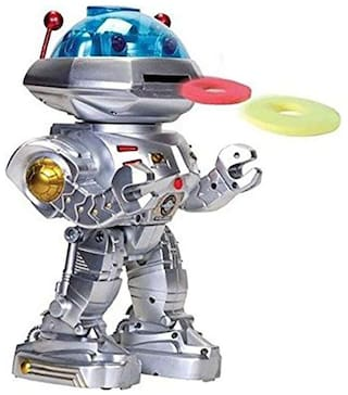 GETITBAE Dancing Robot with Missile Disc Launcher
