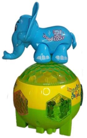 GETITBAE Elephant Rotating Elephant Lights Toy for Kids