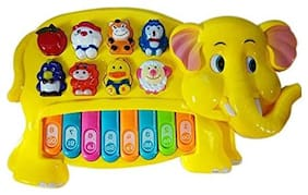 GETITBAE Musical Elephant Piano Toy for Kids