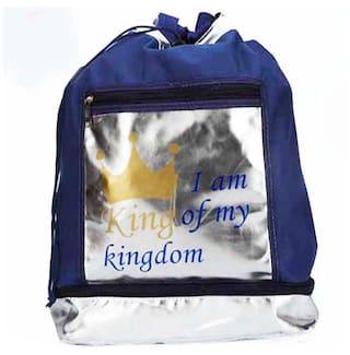 Ghasitaram Gifts King Blue Bag
