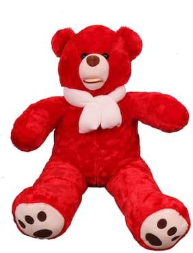 Skylofts Red Teddy Bear - 90 cm