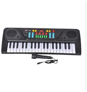 Gift World 37 KEYS MUSICAL ELECTRONIC KEYBOARD PIANO WITH MIC MELODY MIXING TOYS FOR KIDS