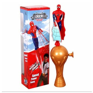 Gift World Ultimate Flying Spiderman Fly High Toy - Novelty Gifts, Super Hero Toys