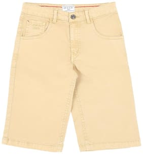 Gini & Jony Boy Solid Shorts - Beige