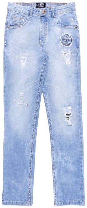 Gini & Jony Boy's Slim fit Jeans - Blue