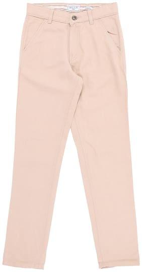 Gini & Jony Boy Solid Trousers - Beige