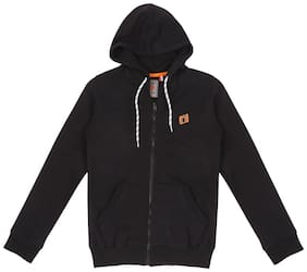Gini & Jony Boy Cotton Solid Winter jacket - Black