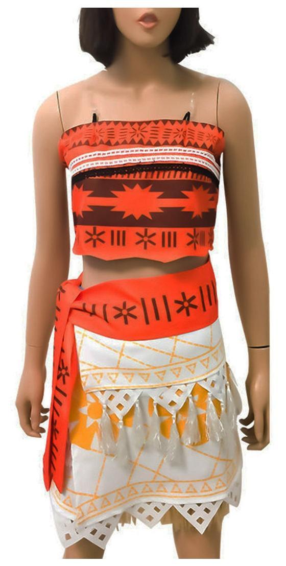 e18337de6 https://assetscdn1.paytm.com/images/catalog/product/. Girl Women Movie Polynesia  princess Moana Cosplay Costume halloween Dress ...
