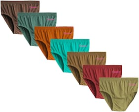CUPATEX Panty & bloomer for Girls - Multi , Set of 7