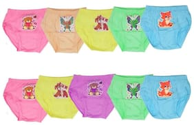 MRB Panty & bloomer for Girls - Multi , Set of 10
