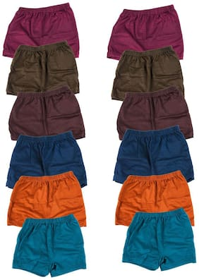 MRB Camisole for Girls - Multi , Set of 12