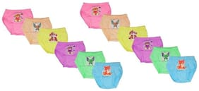 MRB Panty & bloomer for Girls - Multi , Set of 12